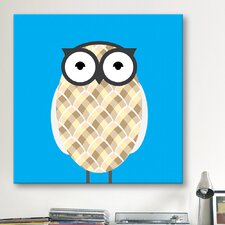 Kids Art Owl Canvas Art