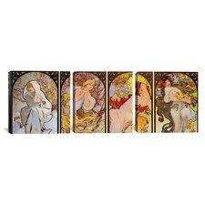 Botticelli Sandro Les Saisons 3 Piece on Canvas Set