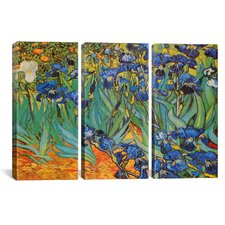 Vincent van Gogh Irises 3 Piece on Canvas Set