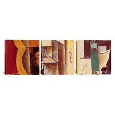 Pablo Picasso Violin and Guitar 3 Piece on Canvas Set
