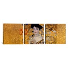 Gustav Klimt Portrait of Adele Bloch-Bauer I 3 Piece on Canvas Set