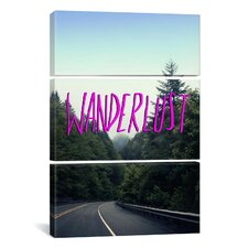 Wanderlust Forest by Leah Flores 3 Piece on Canvas Set
