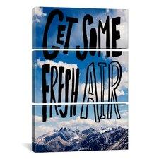 Leah Flores Fresh Air II 3 Piece on Canvas Set