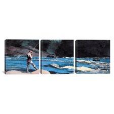Winslow Homer St John 3 Piece on Canvas Set