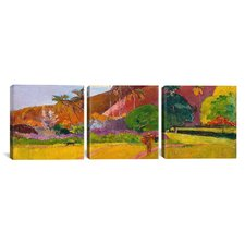 Paul Gauguin Tahitian Landscape 3 Piece on Canvas Set