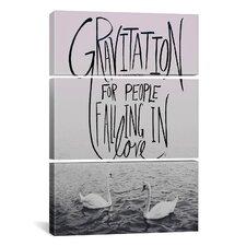 Leah Flores Gravitation II 3 Piece on Canvas Set