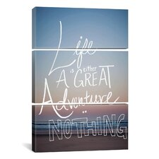 Great Adventure by Leah Flores 3 Piece on Canvas Set