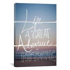 Great Adventure by Leah Flores 3 Piece on Canvas Set
