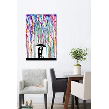 """""""Two Step"""" by Marc Allante Painting Print on Canvas"""