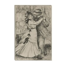 """La Danse a la Campagne"" Canvas Wall Art by Pierre-Auguste Renoir"