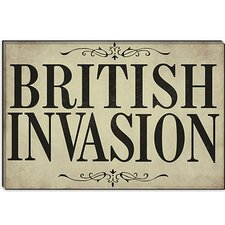 <strong>iCanvasArt</strong> British Invasion from Color Bakery Canvas Wall Art