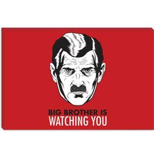 <strong>iCanvasArt</strong> Big Brother Is Watching You 1984 Vintage Poster