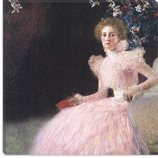 "<strong>iCanvasArt</strong> ""Bildnis Sonja Knips (Portrait of Sonja Knips)"" Canvas Wall Art by Gustav Klimt"