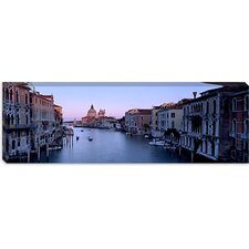 Buildings along a Canal, Santa Maria Della Salute, Venice, Italy Canvas Wall Art