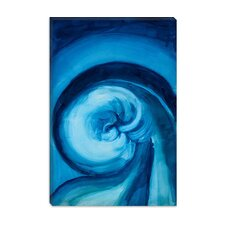 "<strong>iCanvasArt</strong> ""Blue I"" Canvas Wall Art by Georgia O'Keeffe"