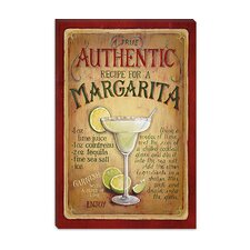 "<strong>iCanvasArt</strong> ""Authentic Margarita"" Canvas Wall Art by Lisa Audit"
