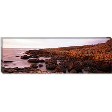 Giant's Causeway in  Antrim Coast, Northern Ireland Canvas Wall Art
