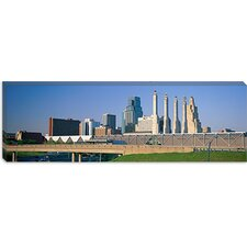 Bartle Hall Kansas City MO Canvas Wall Art