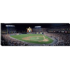 Baseball Game Camden Yards Baltimore MD Canvas Wall Art