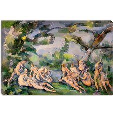 """Bathers 1"" Canvas Wall Art by Paul Cezanne"