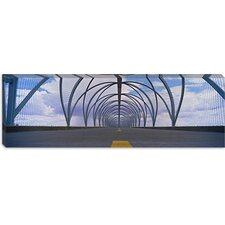 Chain-Link Fence Covering a Bridge, Snake Bridge, Tucson, Arizona Canvas Wall Art