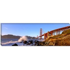 San Francisco Bay, Golden Gate Bridge, San Francisco, Marin County, California Canvas Wall Art