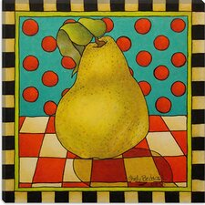 """Be Bop a Lula Pear ""Canvas Wall Art by Shelly Bedsaul"