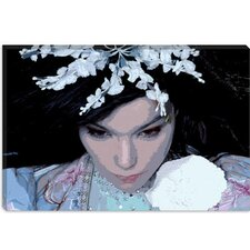 <strong>iCanvasArt</strong> Bjork Canvas Wall Art