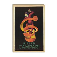 """Bitter Campari (Vintage)"" Canvas Wall Art by Leonetto Cappiello"