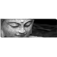 <strong>iCanvasArt</strong> Chinese Buddha (Panoramic) Canvas Wall Art