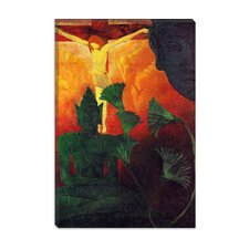 "<strong>iCanvasArt</strong> ""Christ and Buddha"" Canvas Wall Art by Paul Ranson"