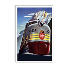 <strong>iCanvasArt</strong> Canadian Pacific (Railway Train) Advertising Vintage Poster