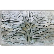 "<strong>iCanvasArt</strong> ""Apple Tree in Flower, 1912"" Canvas Wall Art by Piet Mondrian"