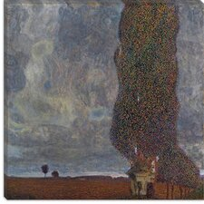 "<strong>iCanvasArt</strong> ""Approaching Thunderstorm (The Large Poplar II)"" Canvas Wall Art by Gustav Klimt"