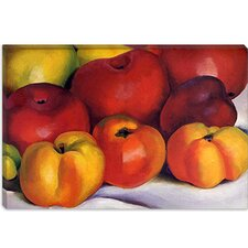 """Apple Family"" Canvas Wall Art by Georgia O'Keeffe"