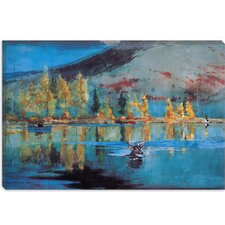 """An October Day 1889"" Canvas Wall Art by Winslow Homer"