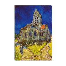 """Church at Auvers"" Canvas Wall Art by Vincent van Gogh"