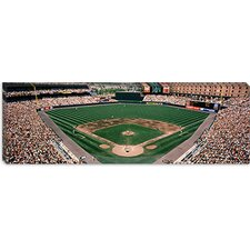 Camden Yards Baseball Field Baltimore MD Canvas Wall Art