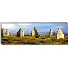 Callanish Stones, Isle Of Lewis, Outer Hebrides, Scotland, United Kingdom Canvas Wall Art