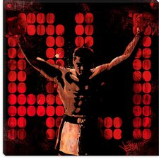 "<strong>iCanvasArt</strong> ""Champ (Muhammad Ali)"" Canvas Wall Art by Joe Petruccio"