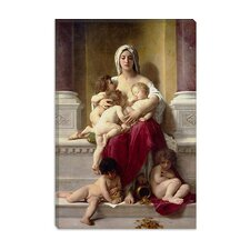 "<strong>iCanvasArt</strong> ""Charity"" Canvas Wall Art by William-Adolphe Bouguereau"