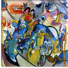 """All Saints Day II"" Canvas Wall Art by Wassily Kandinsky Prints"