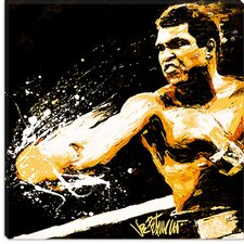 "<strong>iCanvasArt</strong> ""Ali Fury"" Canvas Wall Art by Joe Petruccio"