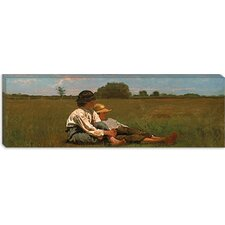 """Boys in a Pasture"" Canvas Wall Art by Winslow Homer (Panoramic)"