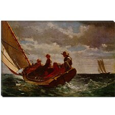 """Breezing Up"" Canvas Wall Art by Winslow Homer"