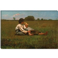 """Boys in a Pasture, 1874"" Canvas Wall Art by Winslow Homer"