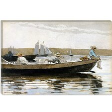 """Boys in a Dory"" Canvas Wall Art by Winslow Homer"
