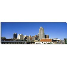 <strong>iCanvasArt</strong> Buildings in a city, Raleigh, Wake County, North Carolina Canvas Wall Art