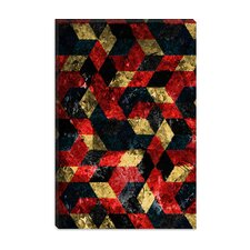 "<strong>iCanvasArt</strong> ""Abstract Berries Patter"" Canvas Wall Art by Maximilian San"