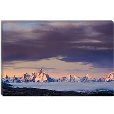 "<strong>iCanvasArt</strong> ""Above the Tetons"" Canvas Wall Art by Dan Ballard"